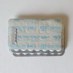 Кленбутерол-вер 40 мкг (Vermodje)