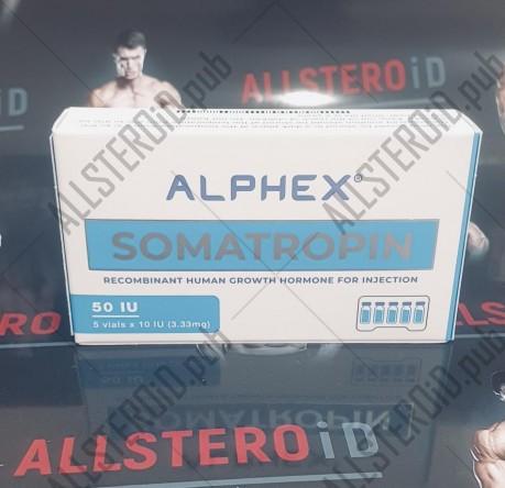 ALPHEX Somatropin (сухой) - ЦЕНА ЗА 50ед