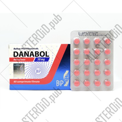 Danabol 50mg/tab Balkan Pharmaceuticals
