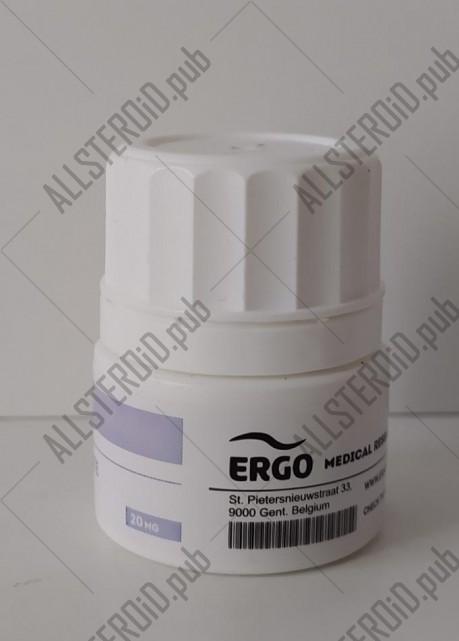 ERGO CLOMIPHENE CITRATE 20mg/tab - ЦЕНА ЗА 100 ТАБ